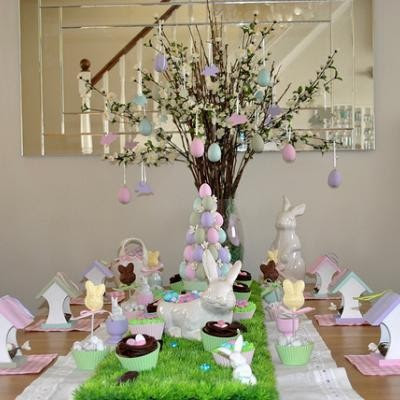 are you having an easter brunch lunch or dinner if so check out some of these easter themed ideas for tablescapes centerpieces and decorations enjoy - Easter Decor