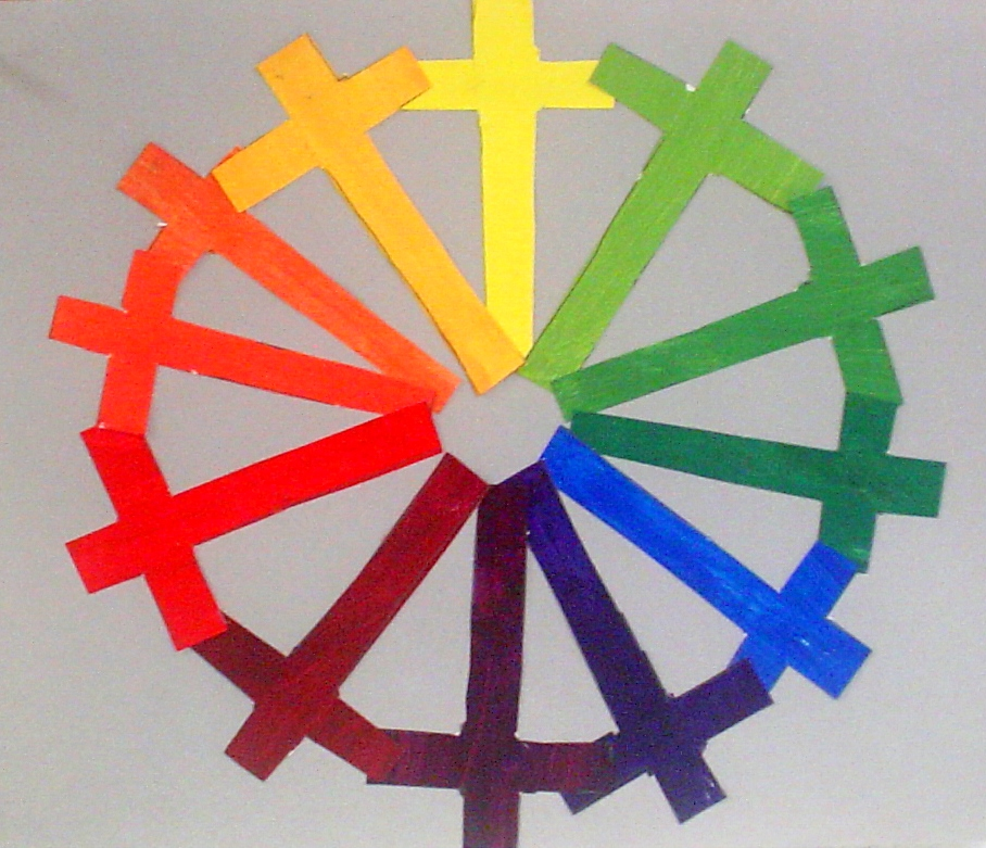 creative color wheels 7th grade lessons from the k 12. Black Bedroom Furniture Sets. Home Design Ideas