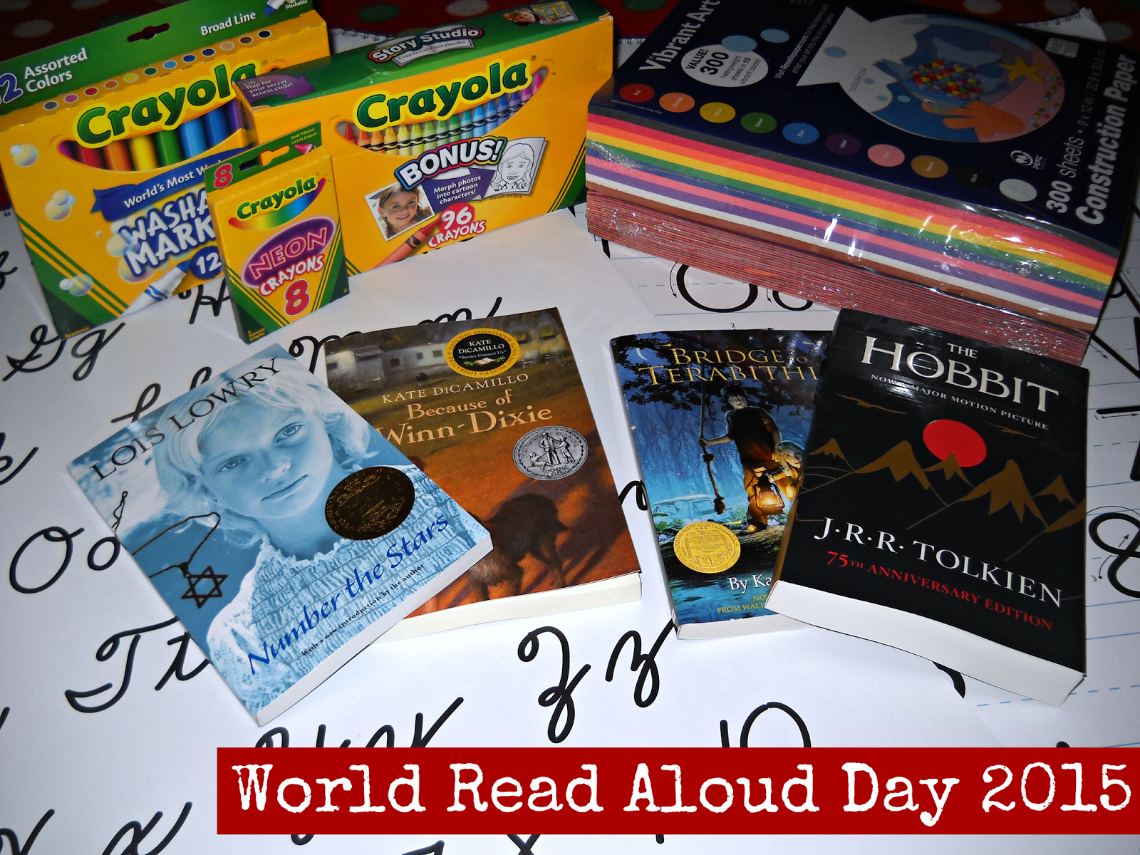 World Read Aloud Day Prize Pack