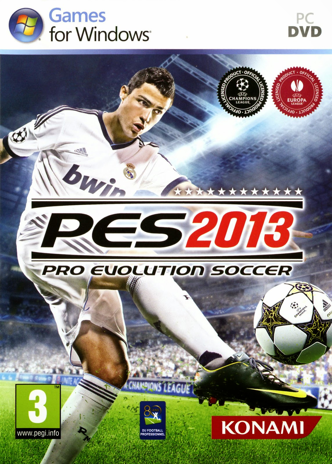 Pro Evolution Soccer (PES) 2013 RELOADED