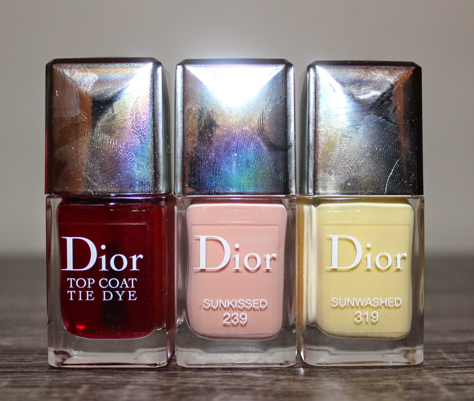 Diror Vernis Summer 2015 Tie Dye Collection