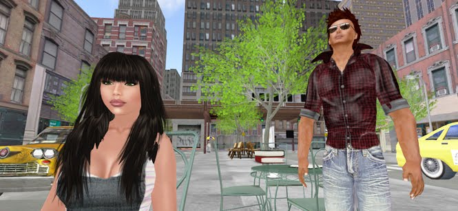our life in second life