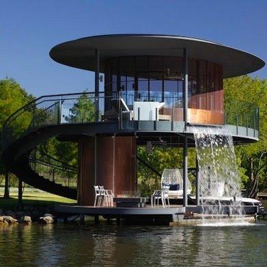Floating homes delivering best water views oddetorium - Les plus belles maisons ...