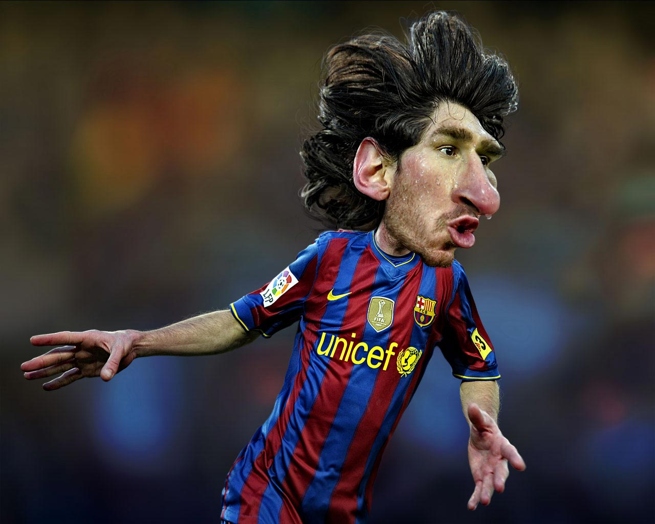 Funny Picture Clip Very Cool Lionel Messi Argentina
