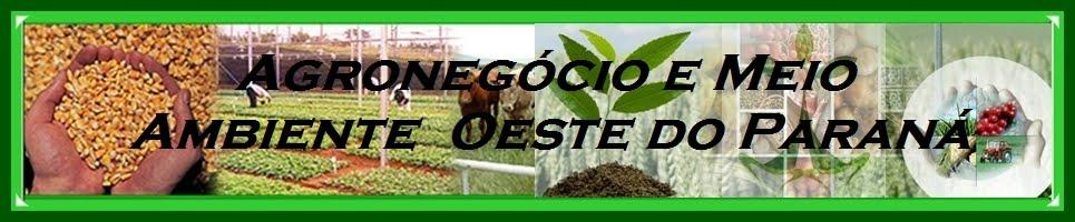 Agronegócio e Meio Ambiente - Oeste do Paraná