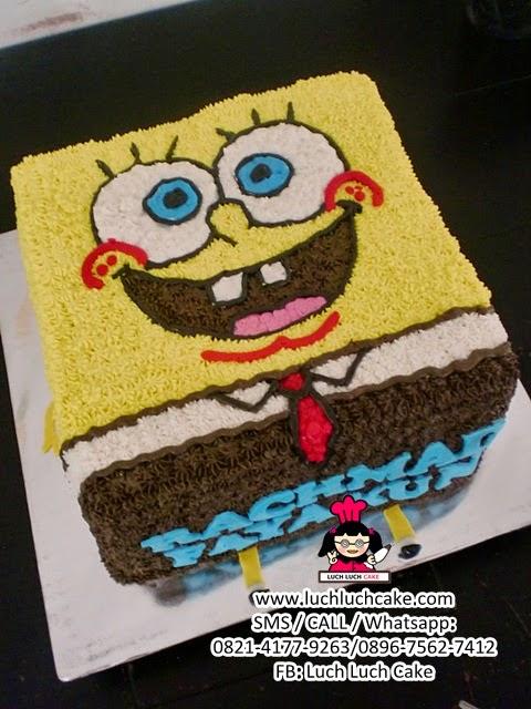 Kue Tart Spongebob 3d Daerah Surabaya - Sidoarjo