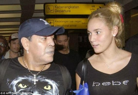 diego-maradona-and-girlfriend