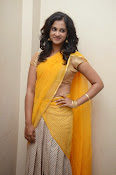 Nanditha raj latest photos in half saree-thumbnail-17
