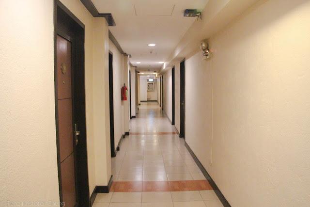 Hallway of O Hotel