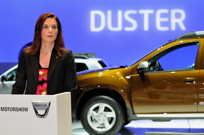 Renault's product manager, Beatrice Foucher