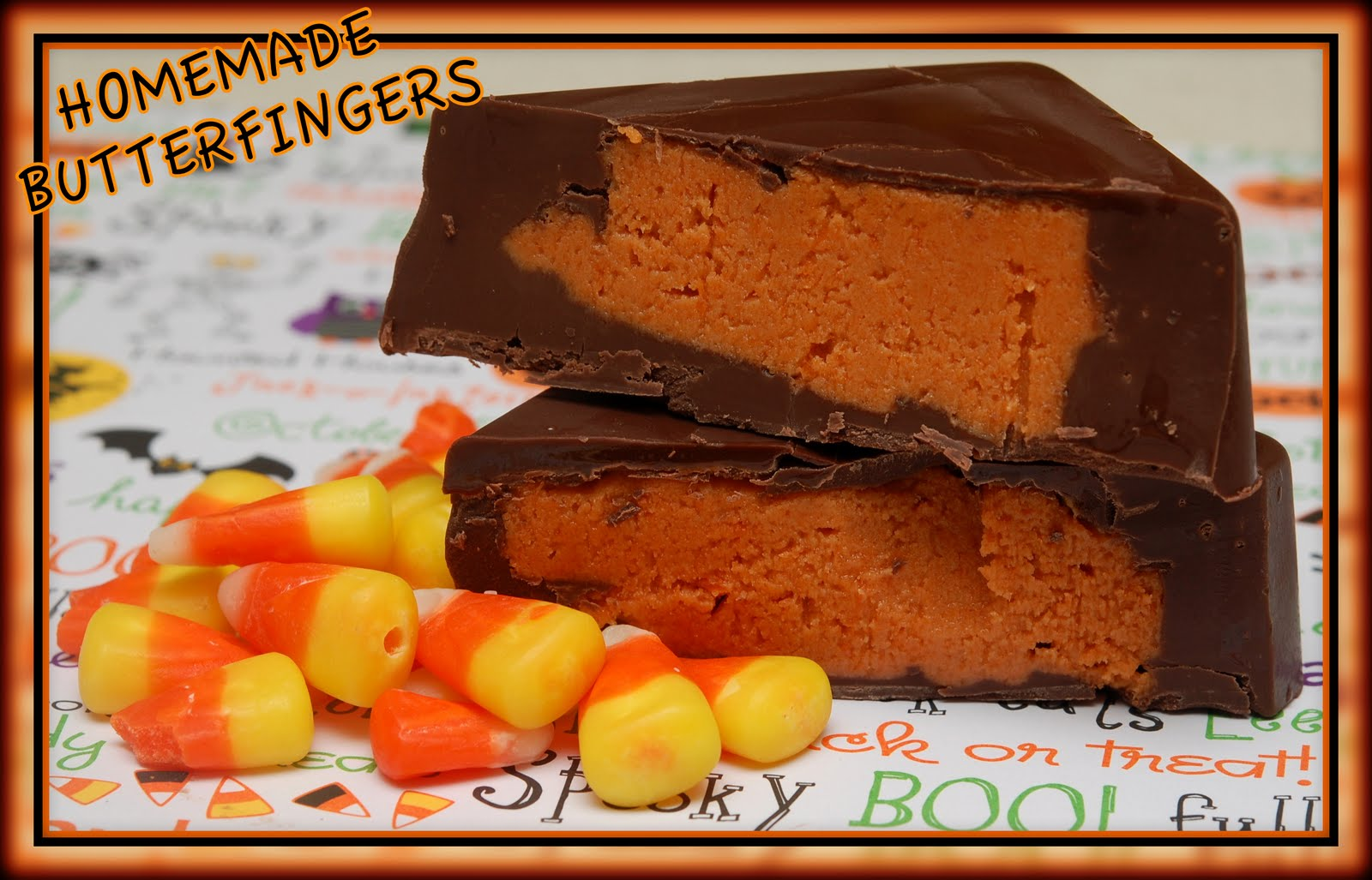 Hugs & CookiesXOXO: HOMEMADE BUTTERFINGER CANDY BARS!