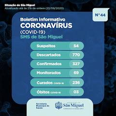 Boletim Epidemiológico 44 - São Miguel - RN