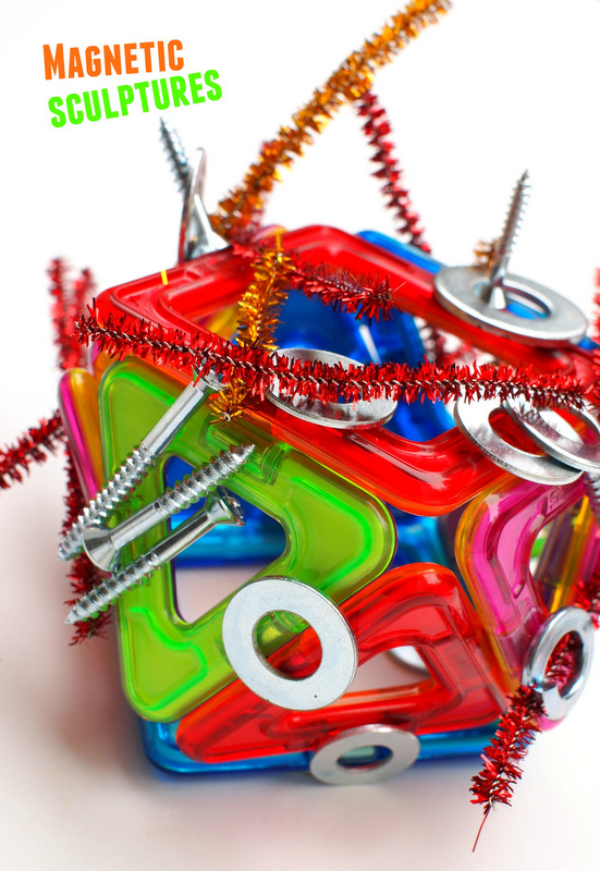 Let's Make Easy and Colorful Magnetic Sculptures! | Pink ...