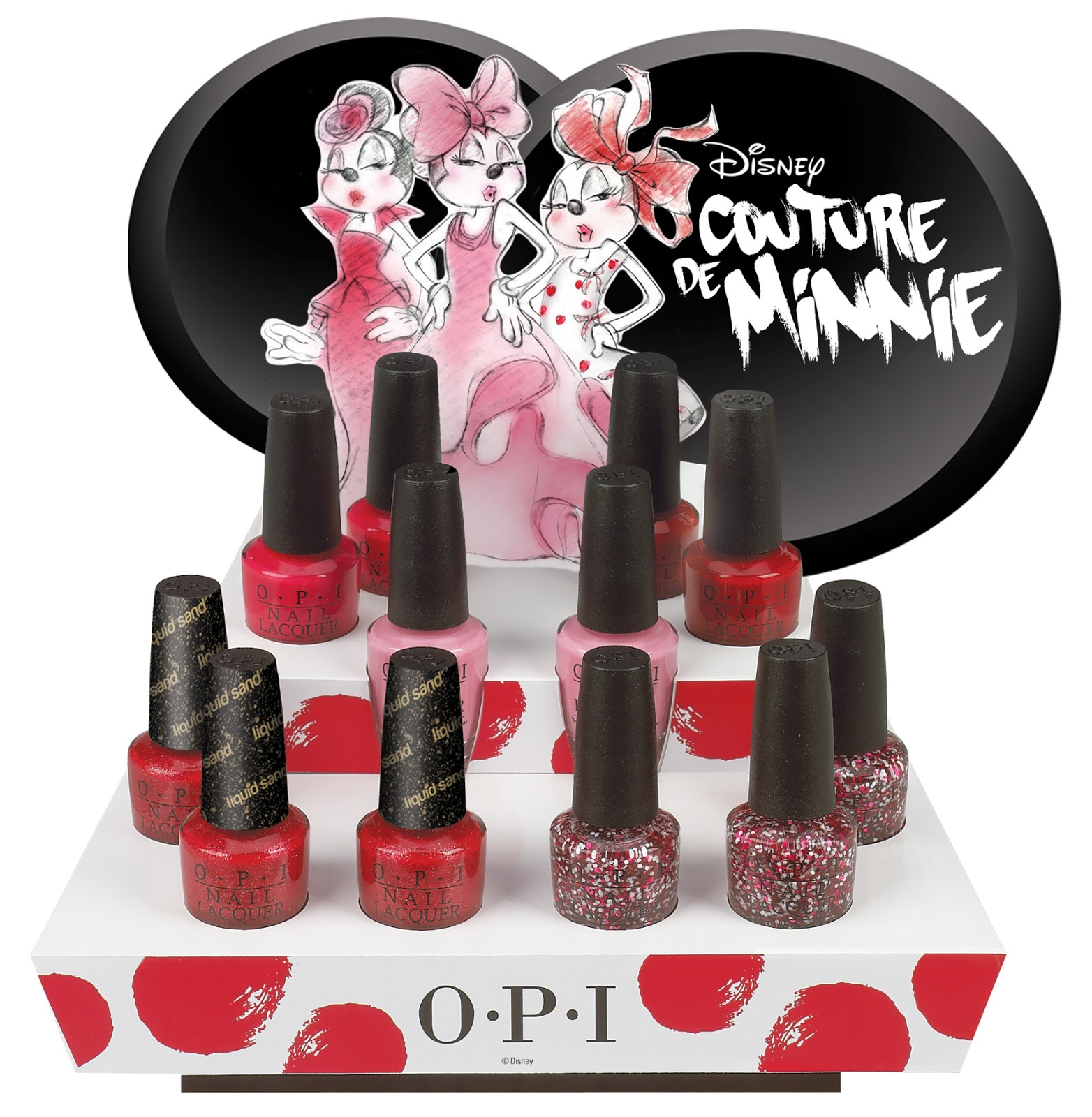 Teen Polish Junkie: OPI Couture de Minnie collection Press Release