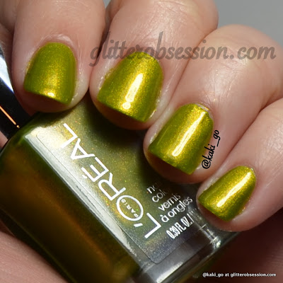 L'Oreal The Temptress' Power swatch