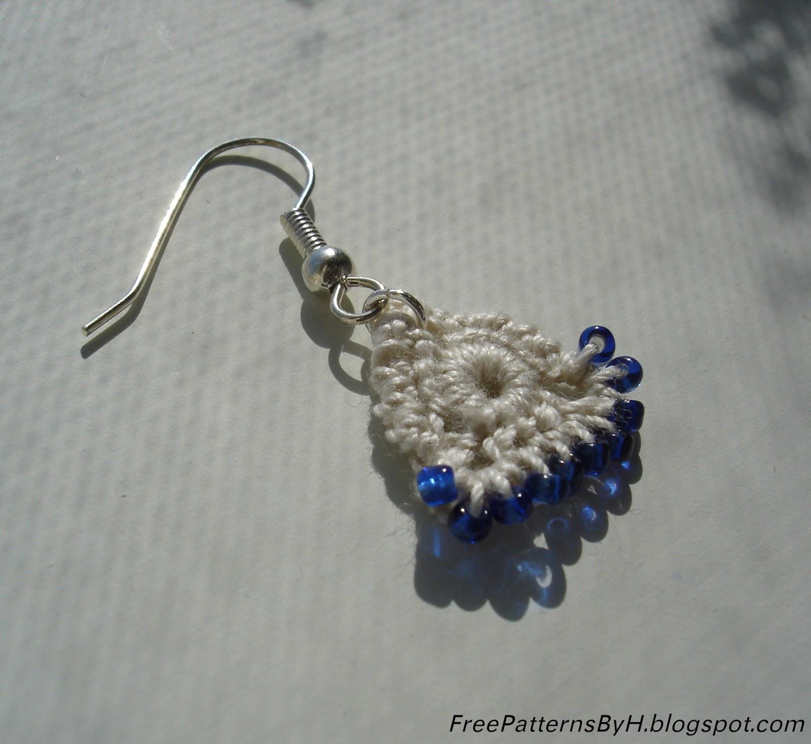 free patterns by h simple beaded earrings