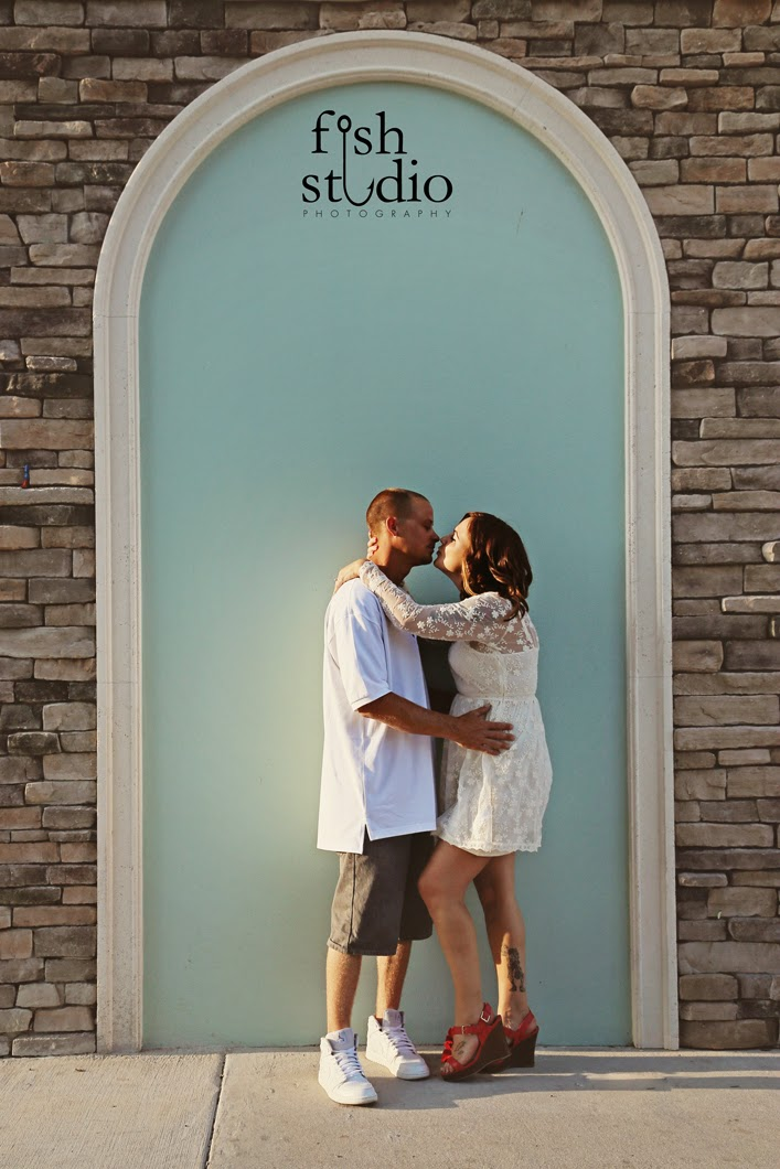 Cocoa Village Engagement Shoot