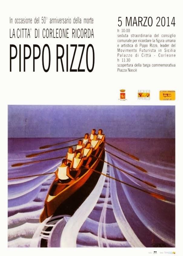 Corleone ricorda il pittore Pippo Rizzo