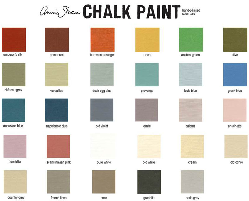 50 weeks to go make it happen annie sloane 39 s chalk paint