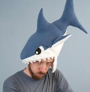 how to make a shark head costume