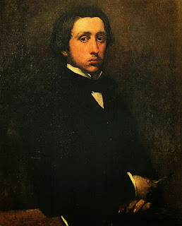 Эдгар Дега. Автопортрет. 1854 — 1855.