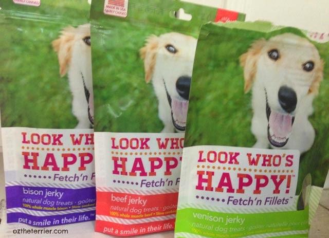 Fetch'n Fillets Jerky Treats by Look Who's Happy