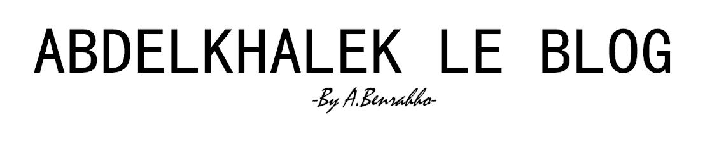 Abdelkhalek - le blog