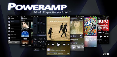 Poweramp Music Player v2.0.6-build-508 Apk + trial reseter