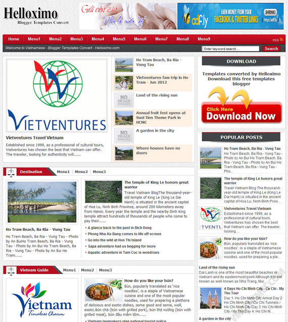 Blogspot Templates Responsive Blog Themes Free Blogger Templates ...
