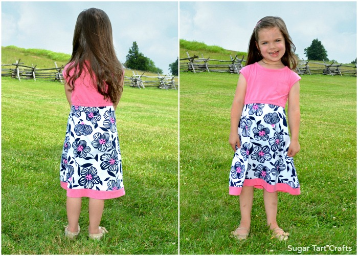 The Lulu Dress sewn by Sugar Tart Crafts