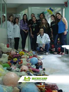 doação de brinquedos microcamp