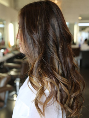 mechas californianas peinados