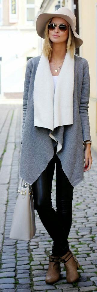 MODA DE RUA - conjuntos para ir tabalhar calças e casaco
