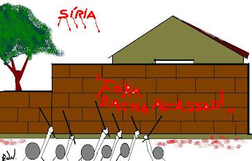 SÍRIA ''FORA  AL-ASSAD''