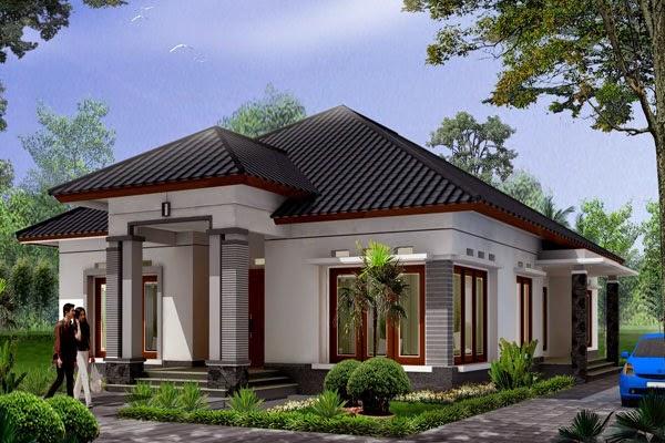 Tampilan mewah desain rumah minimalis 3