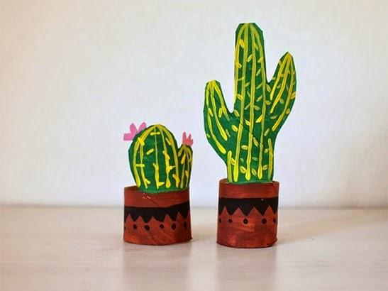 paper cactus garden picture