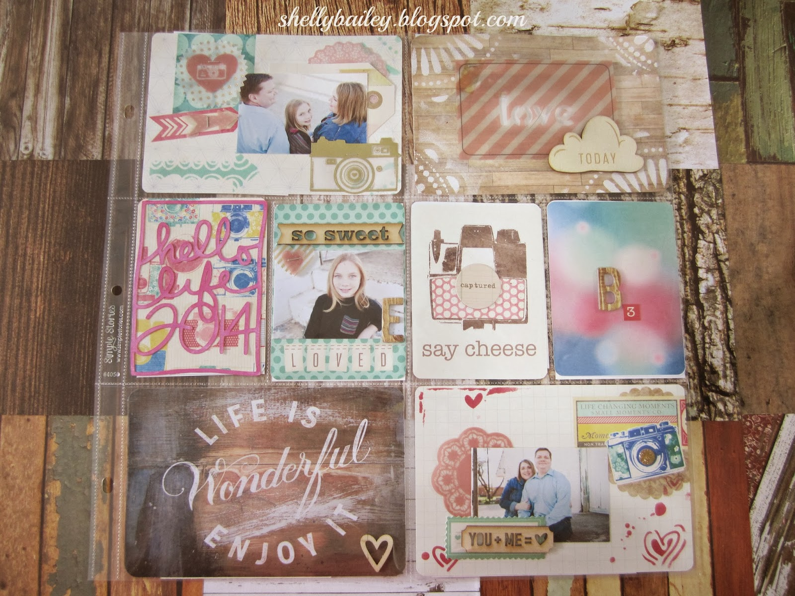 Project Life Ideas 2014 my Project Life Albums