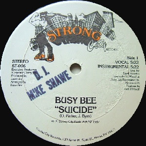 Busy Bee ‎– Suicide (VLS) (1987) (192 kbps)