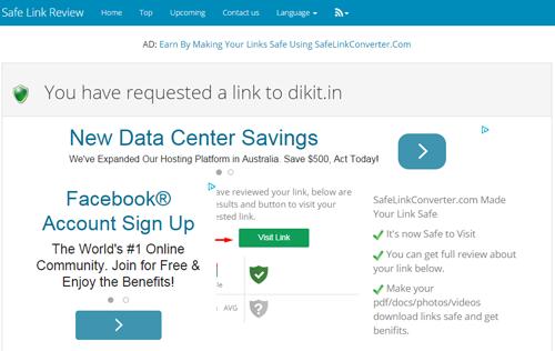 Cara Download di Safelinkreview
