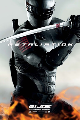 G.I. Joe: Retaliation Character Movie Poster Set 1 - Ray Park as Snake Eyes