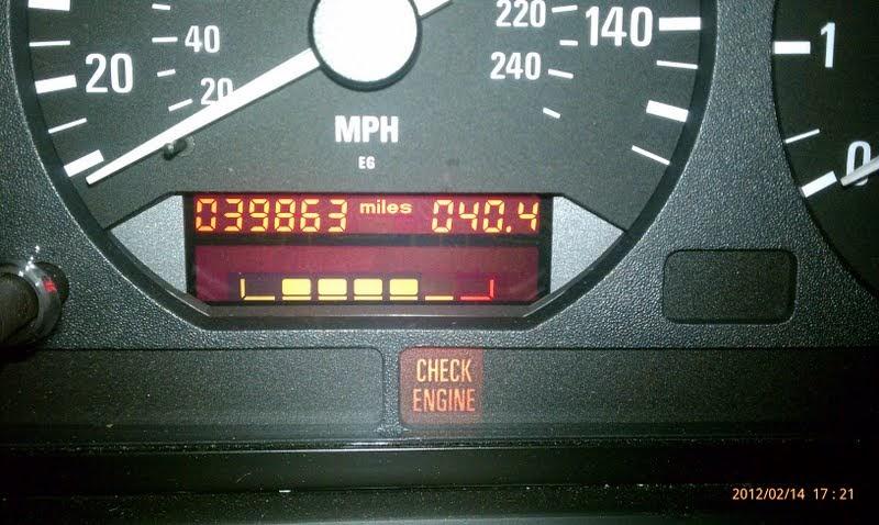 My Perfect 1996 Bmw Z3 Check Engine Light On A 1996 Bmw