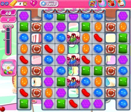 Candy Crush Saga 1058