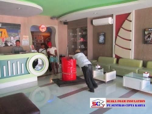 Aplikasi Spray Insulation ' SEAKA FOAM '