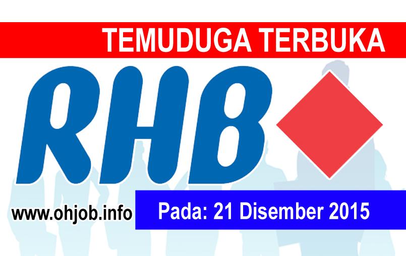 Jawatan Kerja Kosong RHB Banking Group logo www.ohjob.info disember 2015