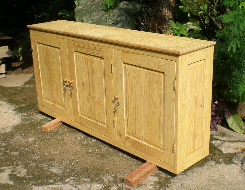 Perabot Kayu Sederhana Simply Wood Furniture Lemari Dinding