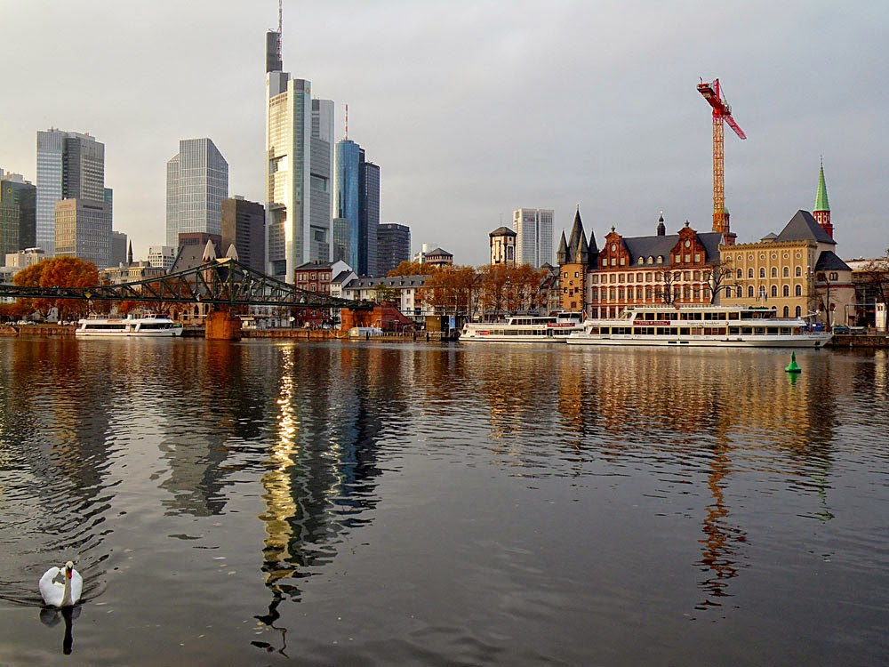 Frankfurt and the River Main, by Andie Gilmour