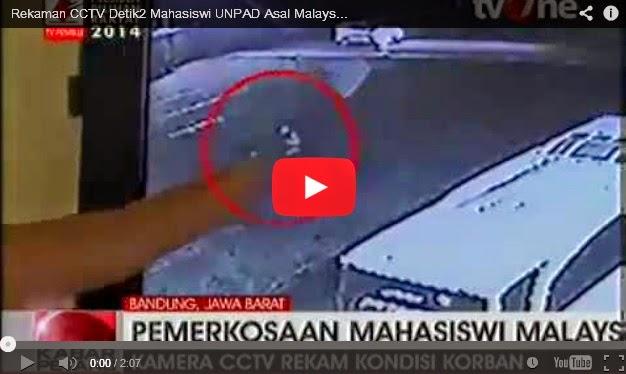 VIDEO: Sedih Rakaman CCTV Penuntut M'sia Selepas Dirogol