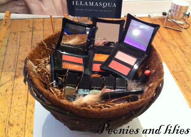 Illamasqua I'mperfection, Illamasqua immodest lipstick, Illamasqua shoot intense lipgloss