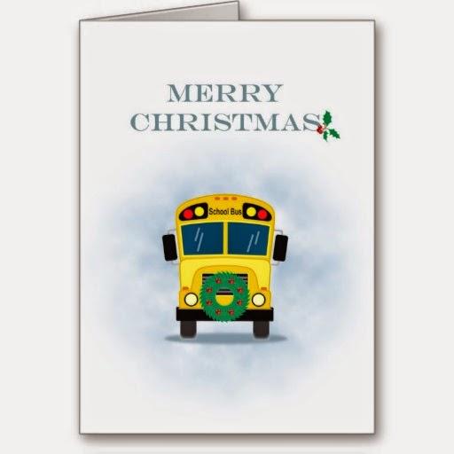 bus driver christmas printable | just b.CAUSE