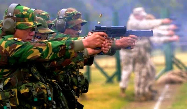 Menembak. PROKIMAL ONLINE Kotabumi Lampung Utara